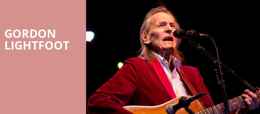 Gordon Lightfoot, Copernicus Center Theater, Chicago