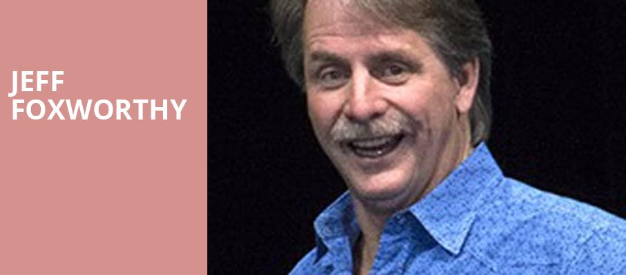 Jeff Foxworthy, Genesee Theater, Chicago