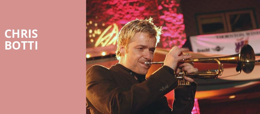 Chris Botti, The Chicago Theatre, Chicago