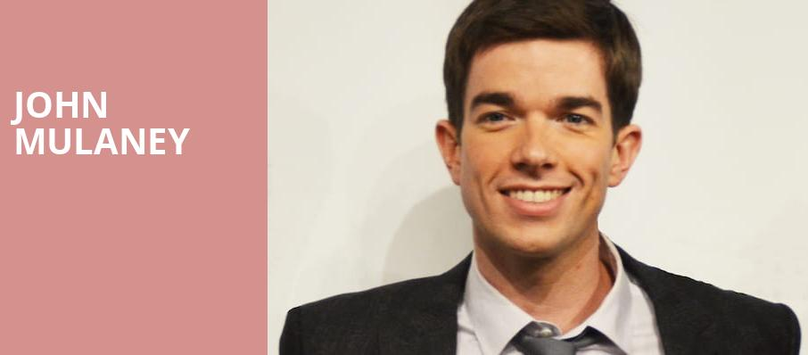 John Mulaney, The Chicago Theatre, Chicago