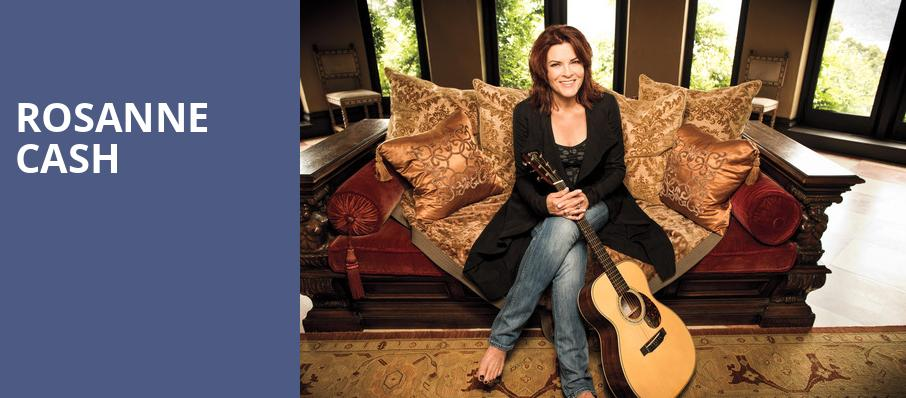 Rosanne Cash, The Chicago Theatre, Chicago