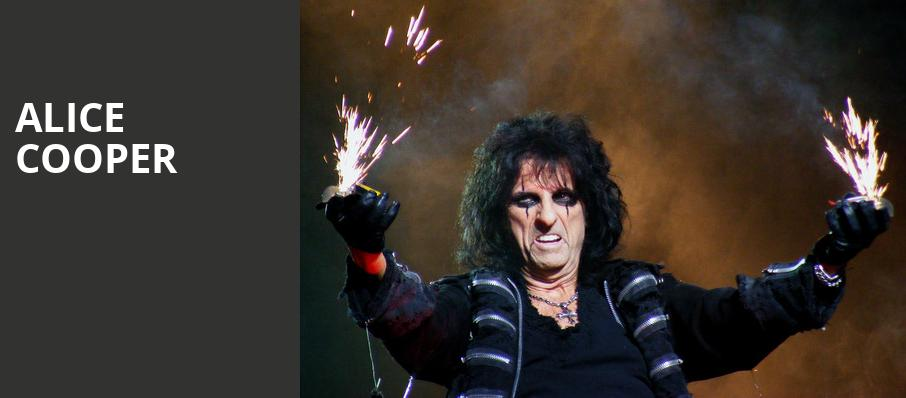 Alice Cooper, Genesee Theater, Chicago