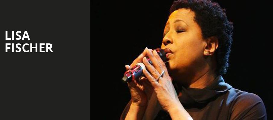 Lisa Fischer, City Winery, Chicago