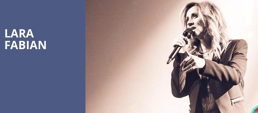 Lara Fabian, The Chicago Theatre, Chicago
