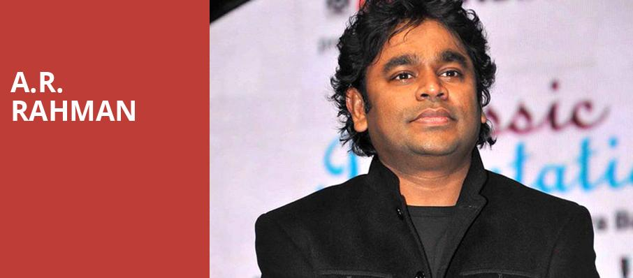 AR Rahman, Auditorium Theatre, Chicago