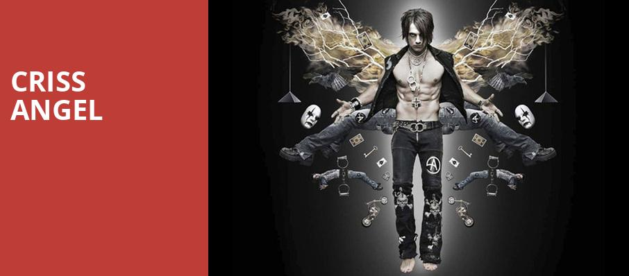 Criss Angel, Genesee Theater, Chicago
