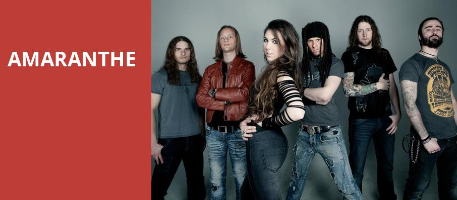 Amaranthe, Concord Music Hall, Chicago