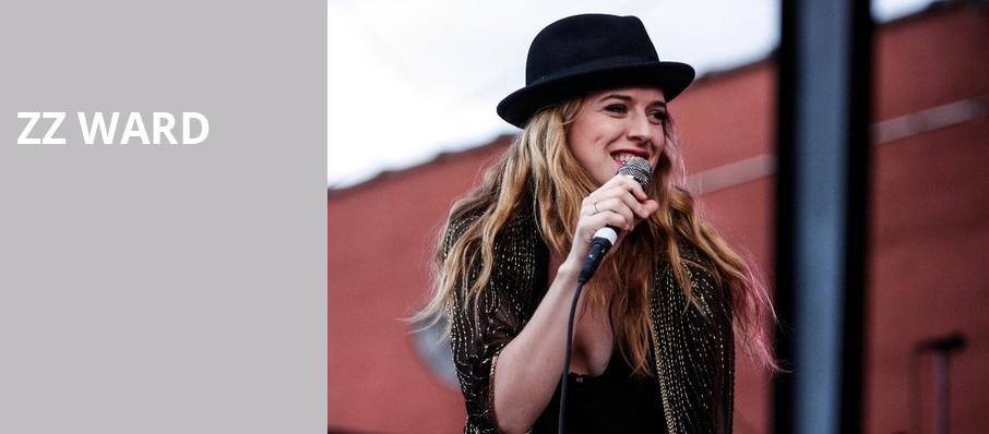 ZZ Ward, House of Blues, Chicago