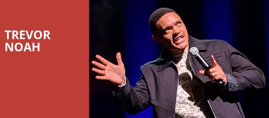 Trevor Noah, The Chicago Theatre, Chicago