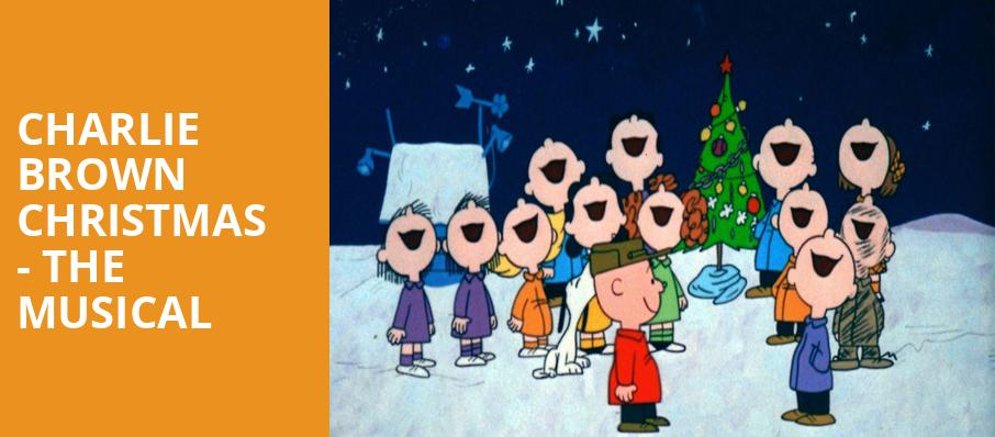 charlie brown christmas the musical - Peanuts Christmas Special