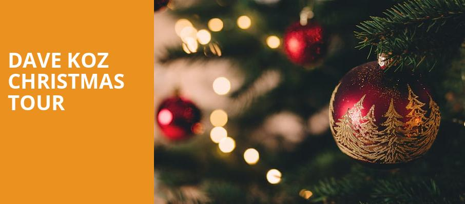 Dave Koz Christmas Tour, The Chicago Theatre, Chicago