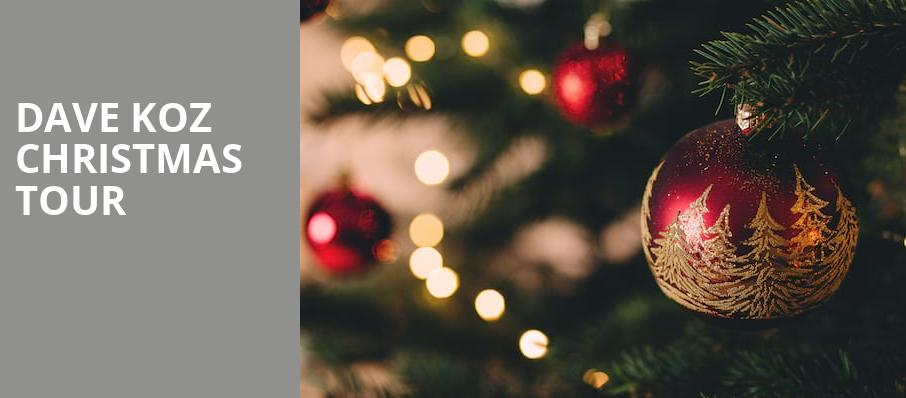 Dave Koz Christmas Show 2020 Dave Koz Christmas Tour   The Chicago Theatre, Chicago, IL
