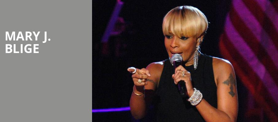 Mary J Blige, The Chicago Theatre, Chicago