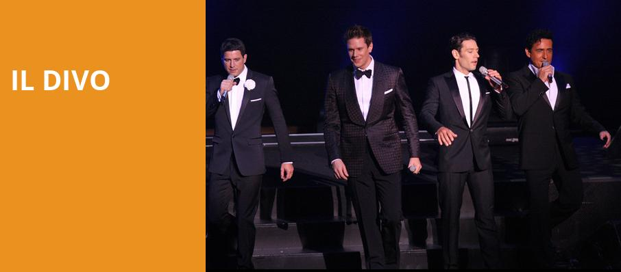 Il Divo, Rosemont Theater, Chicago