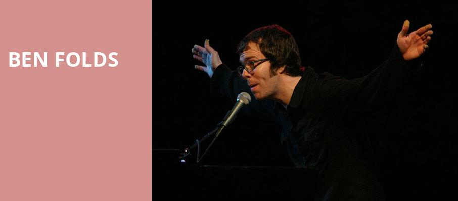 Ben Folds, Riviera Theater, Chicago