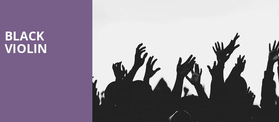 Black Violin, Auditorium Theatre, Chicago