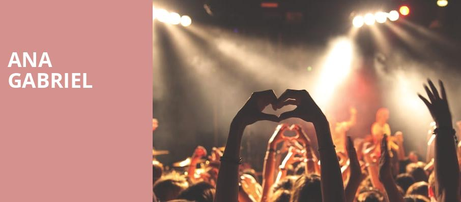 Ana Gabriel, All State Arena, Chicago