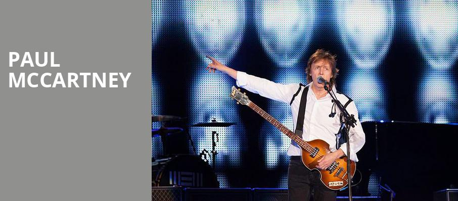 Paul McCartney, Hollywood Casino Amphitheatre IL, Chicago