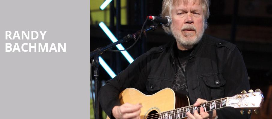 Randy Bachman, Rosemont Theater, Chicago