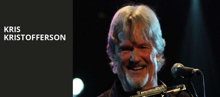 Kris Kristofferson, The Chicago Theatre, Chicago