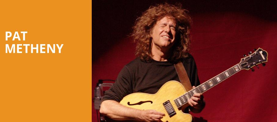 Pat Metheny, The Chicago Theatre, Chicago