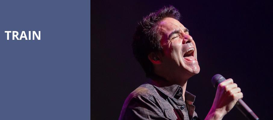 Train, Ravinia Pavillion, Chicago