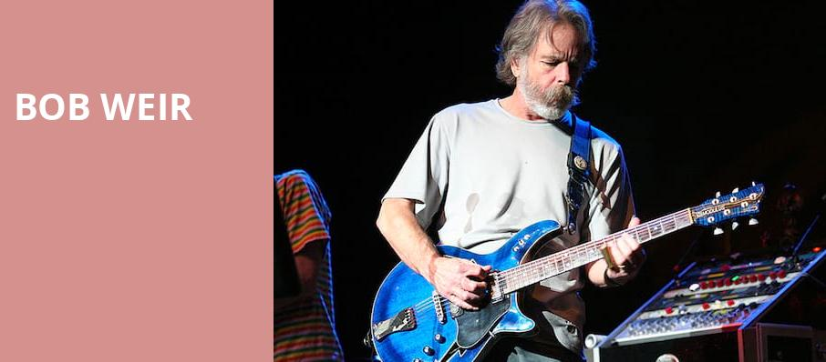 Bob Weir, The Chicago Theatre, Chicago