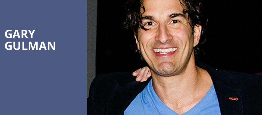 Gary Gulman, Vic Theater, Chicago