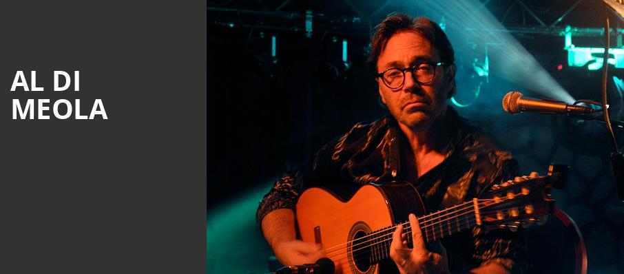 Al Di Meola, City Winery, Chicago