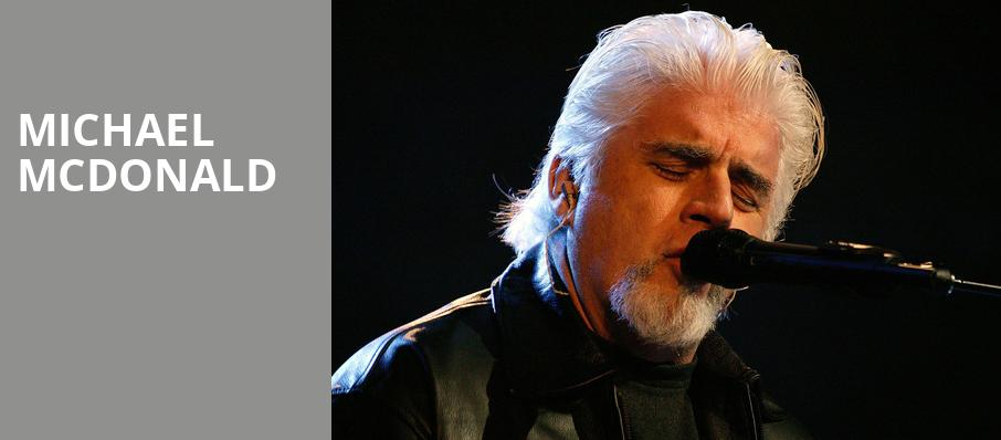 Michael McDonald, Genesee Theater, Chicago