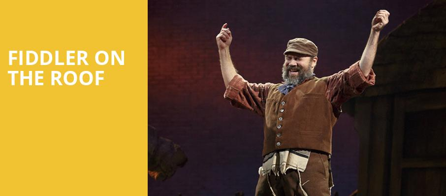 Fiddler on the Roof, Cadillac Palace Theater, Chicago