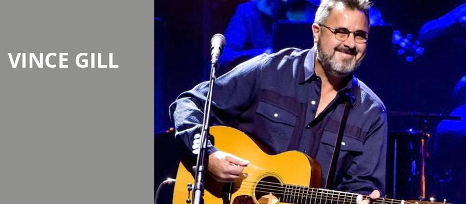 Vince Gill, The Chicago Theatre, Chicago