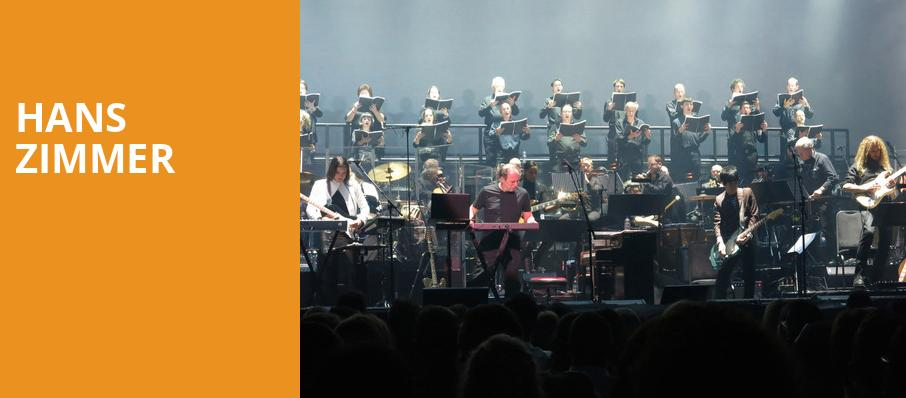 Hans Zimmer, All State Arena, Chicago