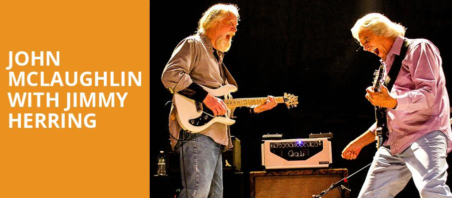 John McLaughlin with Jimmy Herring, Vic Theater, Chicago