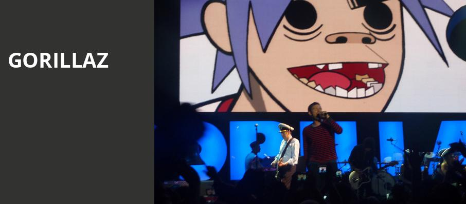 Gorillaz, United Center, Chicago