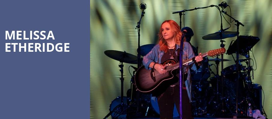 Melissa Etheridge, Genesee Theater, Chicago
