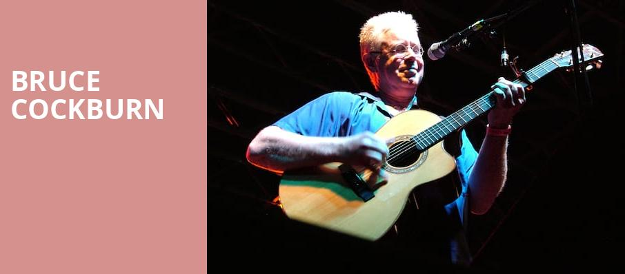 Bruce Cockburn, Old Town School Of Folk Music, Chicago
