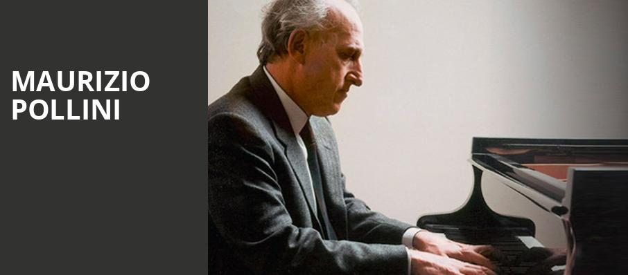 Maurizio Pollini, Symphony Center Orchestra Hall, Chicago