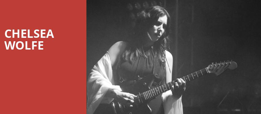 Chelsea Wolfe, Metro Smart Bar, Chicago