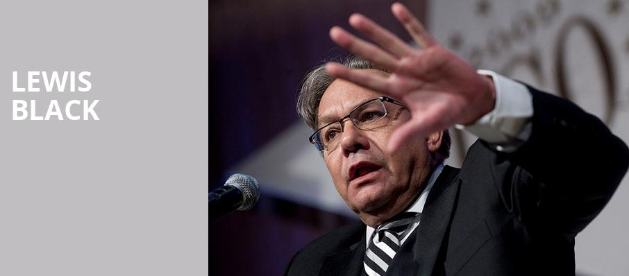 Lewis Black, McAninch Arts Center, Chicago