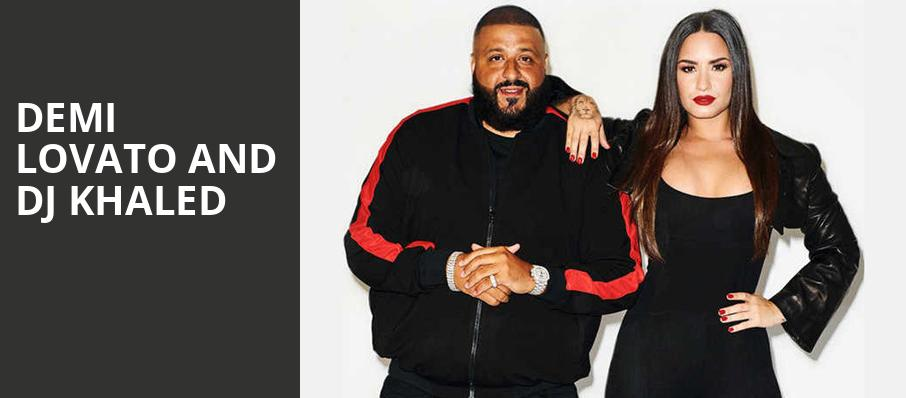 Demi Lovato and DJ Khaled, All State Arena, Chicago