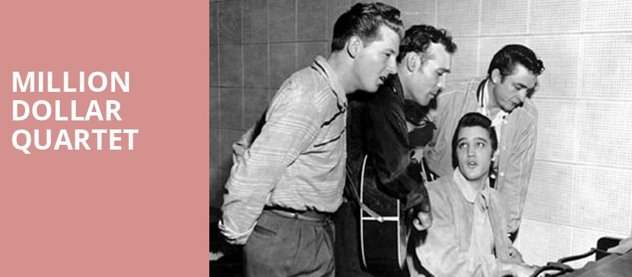 Million Dollar Quartet, Marriott Theatre, Chicago