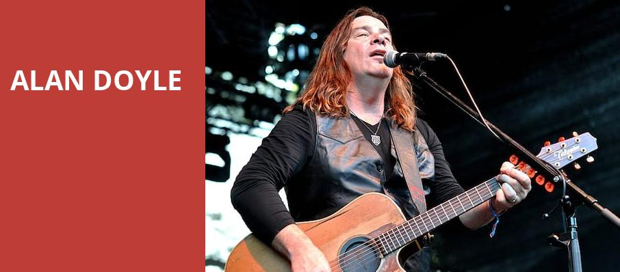 Alan Doyle, City Winery, Chicago