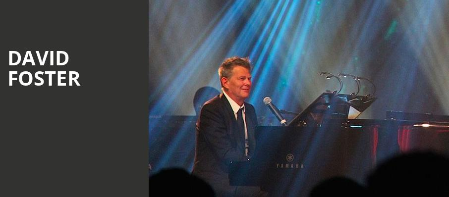 David Foster, The Chicago Theatre, Chicago