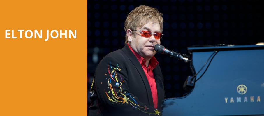Elton John, United Center, Chicago