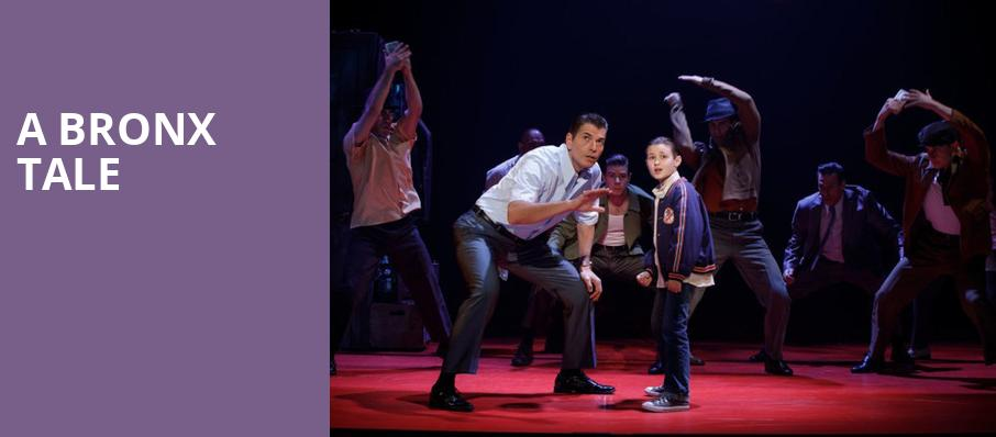 A Bronx Tale, James M Nederlander Theatre, Chicago