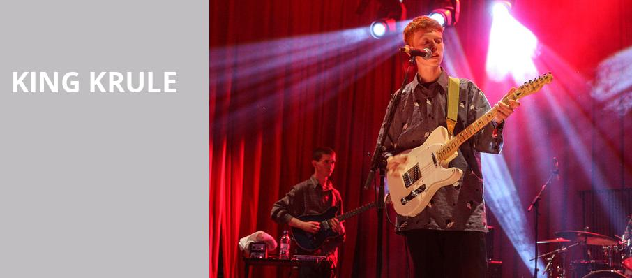King Krule, Riviera Theater, Chicago