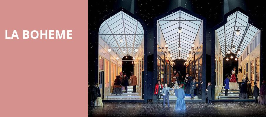 La Boheme, Civic Opera House, Chicago