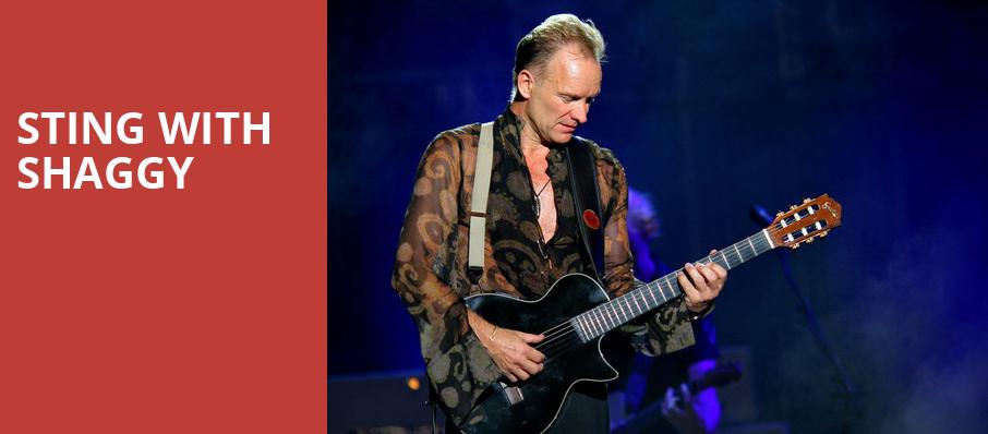 Sting with Shaggy, Aragon Ballroom, Chicago