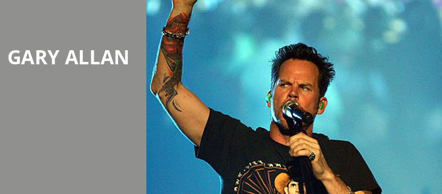 Gary Allan, Genesee Theater, Chicago